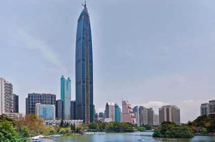 100 Floors Level 72 Tower by Kk100 Tower Shenzhen Skyscraper Kk 100 Shenzhen Building