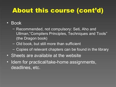 compiler design tutorial notes compiler design tutorial