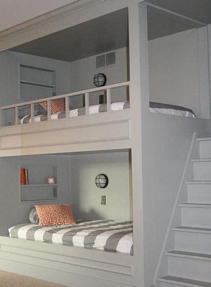 Diy Built In Bunk Beds 30 Amazing Bunk Bed Ideas Diy Cozy Home