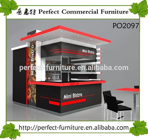 design booth burger outdoor gazebo kiosk street food coffee shop decoration