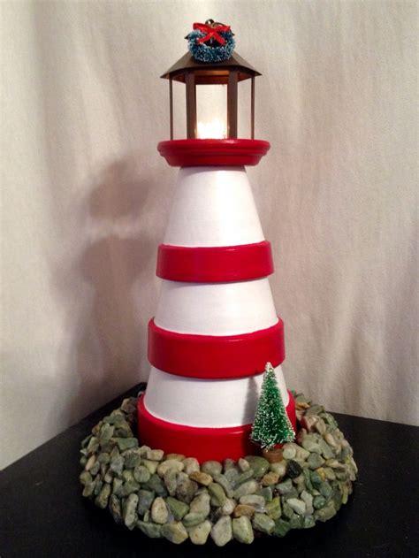 lighthouse craft project mais de 1000 ideias sobre clay pot lighthouse no