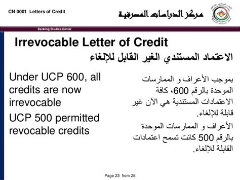 Letter Of Credit Definition In Arabic Prof William Kosar Letters Of Credit As A Payment Method
