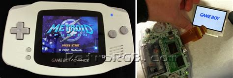 gameboy sp backlight mod gameboy mods emulators solutions to play it again