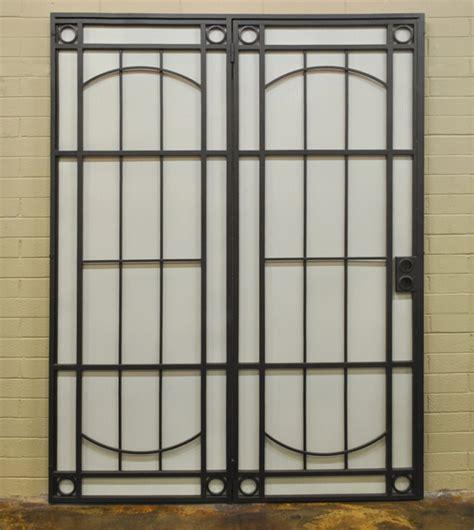 Wrought Iron Patio Security Doors : Grande Room   Patio