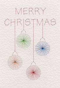 stitching card templates free free merry baubles pattern added at pinbroidery