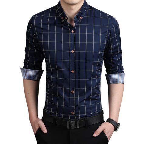 aliexpress buy 2016 new fashion mens plaid shirt 100