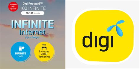 Kartu Telepon Prepaid Digi Malaysia new digi postpaid 100 infinite plan with unlimited data and calls available now for 5