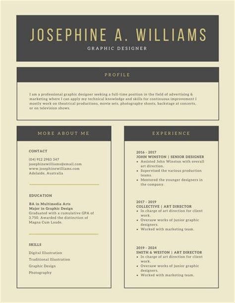 top 35 modern resume templates to impress any employer
