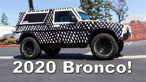 2020 Ford Bronco Unveiling by 2020 Ford Bronco What You Can Expect