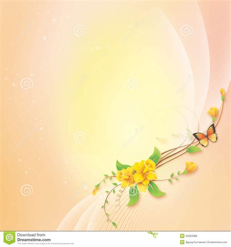 greeting card background templates flower with abstract background for greeting card stock