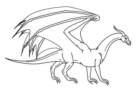 coloring pictures of flying dragons simple dragon outline az coloring pages