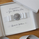 Personalised Luxury Handmade Wedding Card // Gift Boxed Card