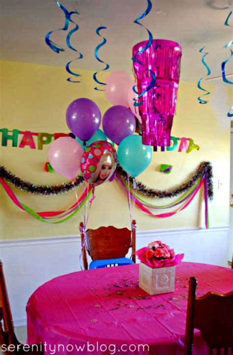 easy party decorations to make at home birthday party decorations at home decoration ideas for