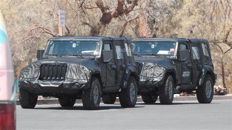 jeep truck 2018 spy photos 2018 jeep wrangler spy phots emerged automotorblog