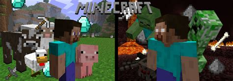 when was minecraft made minecraft fan made wallpaper by nini55 on deviantart