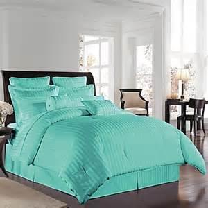 buy wamsutta 174 500 damask twin comforter set in aqua from