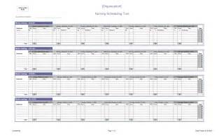 Nursing Staff Schedule Template by Search Results For Monthly Vacation Schedule 2015 Excel