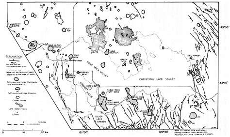 fort rock oregon map usgs geological survey circular 838 contents