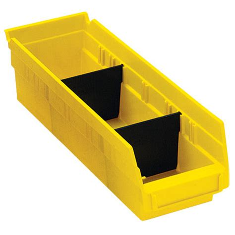 Plastic Shelf Storage Bins by Plastic Shelf Bin Dividers R S Hughes Shipping And