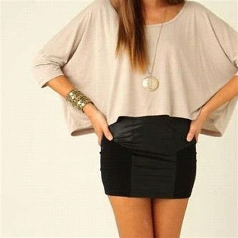 top and a pencil skirt hair and clothes