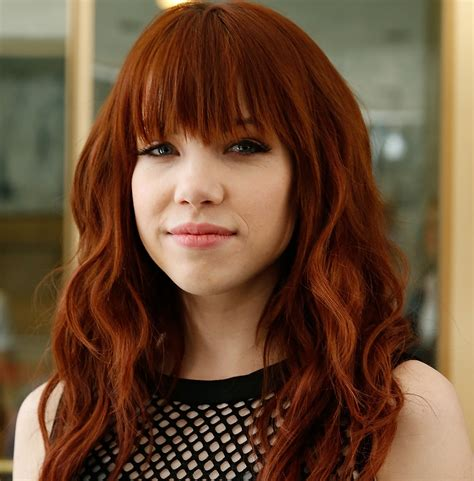 carly red see carly rae jepsen s dramatic hair makeunder twist