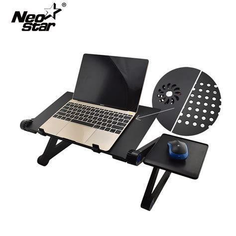 lap desk for laptop with fan aluminum alloy adjustable laptop desk lapdesks computer