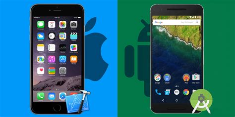 difference between iphone and android most notable differences between ios and android while creating apps