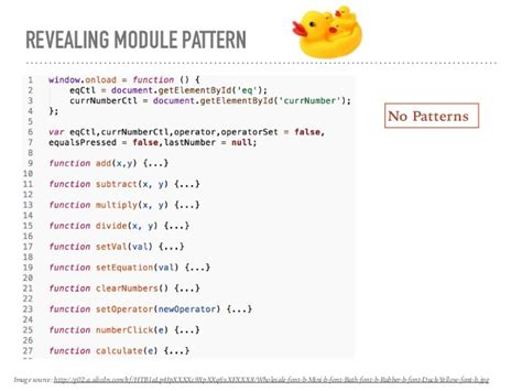 revealing module pattern javascript dan wahlin design patterns in javascript