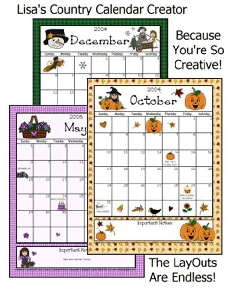 printable calendar creator calendar creator some free clipart quot popular pins