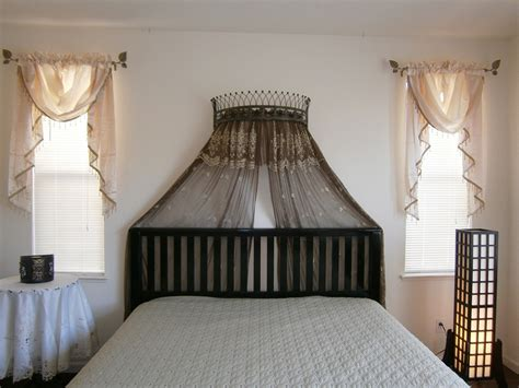 Wall Mounted Bed Canopy Bed Crown As Its Name Suggests A Bed Crown Is Typically Placed Above Your Bedding Ensemble And
