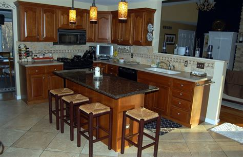 granite kitchen island with seating kitchen island design tips midcityeast