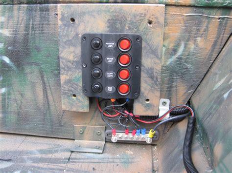 jon boat electrical panel bing images - Jon Boat Electrical Panel