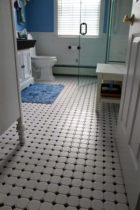 Flooring For Bathroom Ideas Vintage Tile Bathroom Floor New Jersey Custom Tile