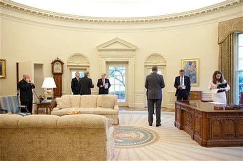 did redecorate the white house obama s unattractive oval office redecoration