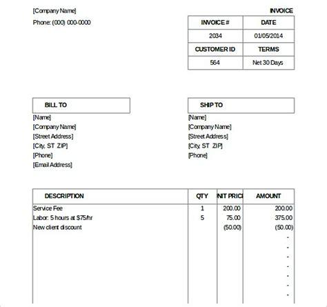 hospital invoice template cblconsultics tk