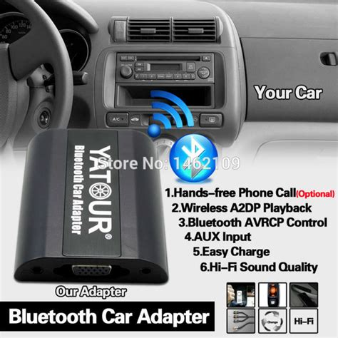 yatour bluetooth car adapter digital  cd changer switch connector  opel antaraastra