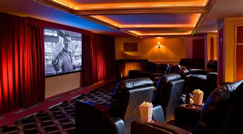 movie theater decor for the home 11 ultra luxe home movie theaters you have to see believe