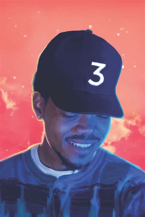 coloring book chance the rapper poster chance the rapper s coloring book chance 3 mixtape is