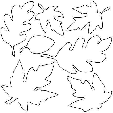 leaf pattern black and white clipart black and white fall leaves clipart clipartxtras