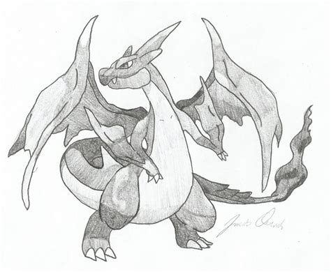 Charizard Y Drawing by Mega Charizard Y By Steunkerowens On Deviantart