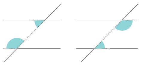 Co Interior Angles Are Equal by Ks3 Bitesize Maths Intersecting And Parallel Lines