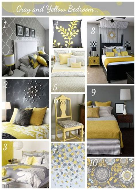 Bedroom Decorating Ideas Yellow Grey 25 Best Ideas About Gray Yellow Bedrooms On