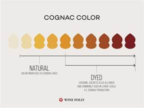 cognac color the guide to finding great cognac wine folly