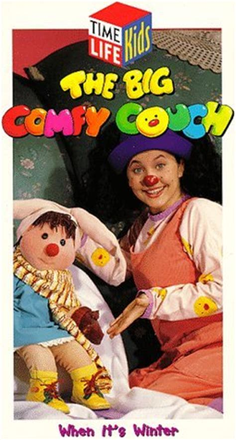 big comfy couch characters opening to the big comfy couch when it s winter 1993 vhs