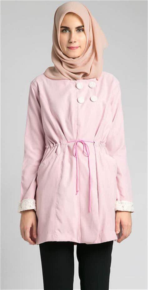 10 model baju muslim casual untuk wanita modis