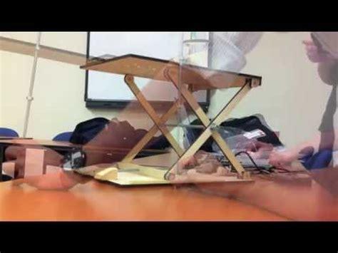 mechanical design scissor lift project youtube