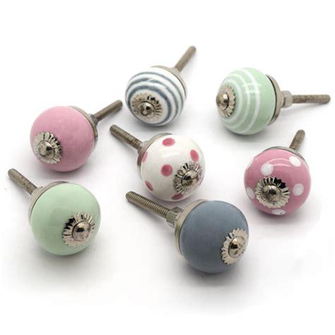 small ceramic cupboard door knobs