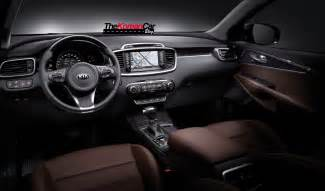 exclusive all new kia sorento interior pictures revealed