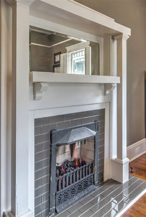 bungalow fireplace renovated craftsman style bungalow in inman park hits the