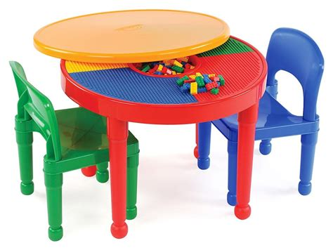 Lego Table And Chairs by Tot Tutors 2 In 1 Plastic Lego Compatible